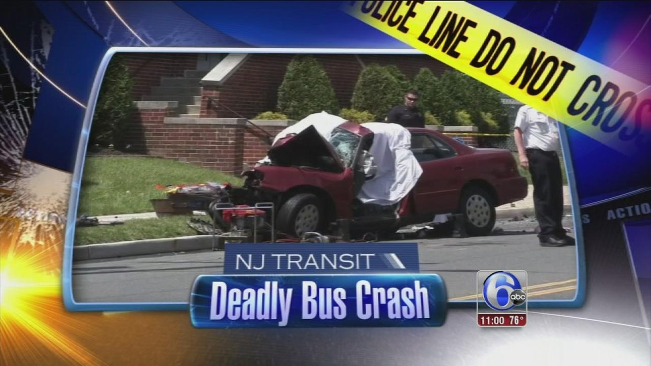 VIDEO: Deadly NJ bus crash