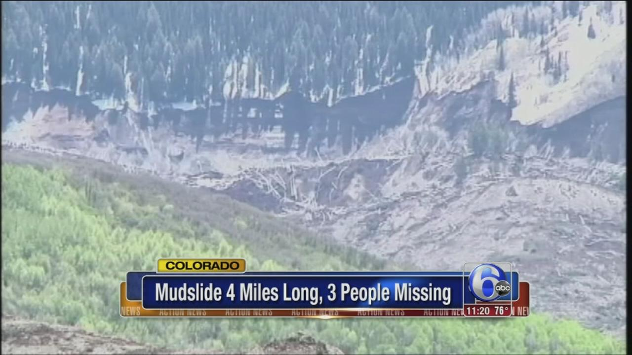 VIDEO: No sign of 3 missing in Colo.