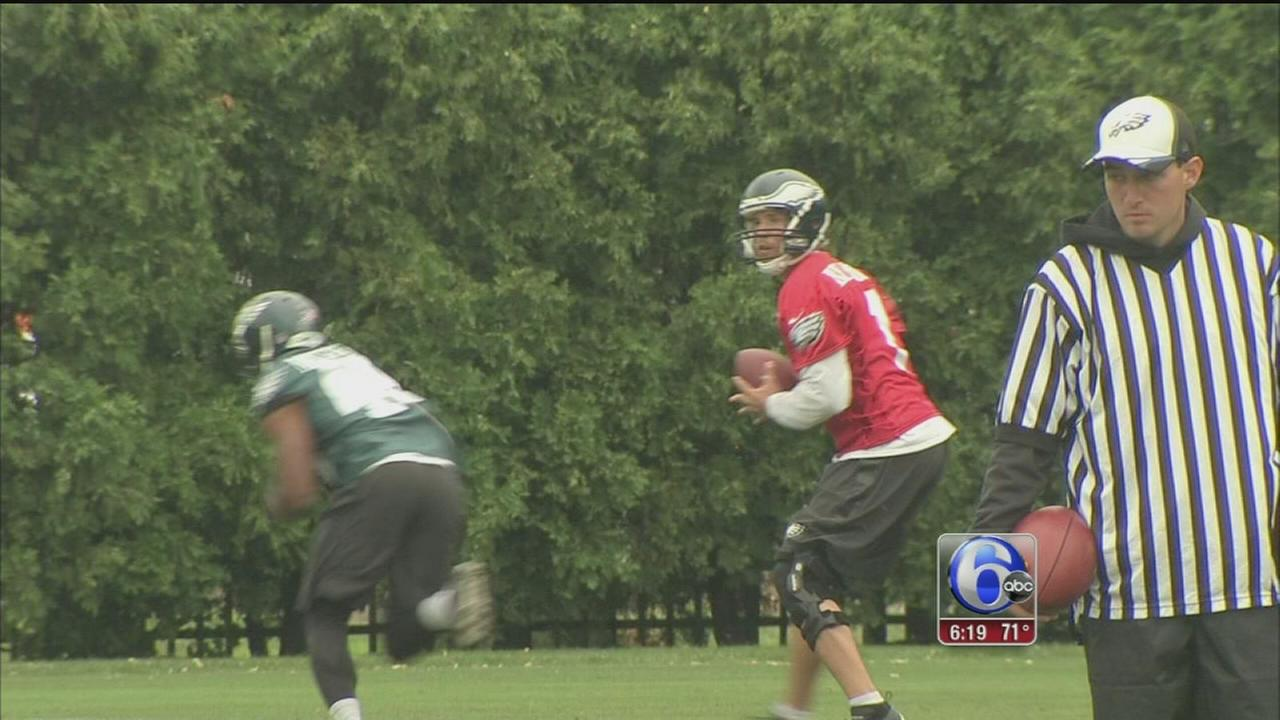 VIDEO: Final day of Eagles mini-camp