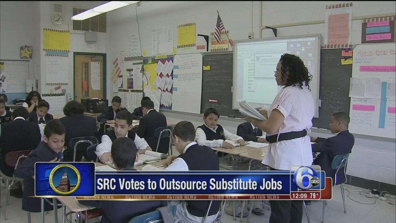 VIDEO: Philadelphias SRC approves plan to out-source substitute teachers