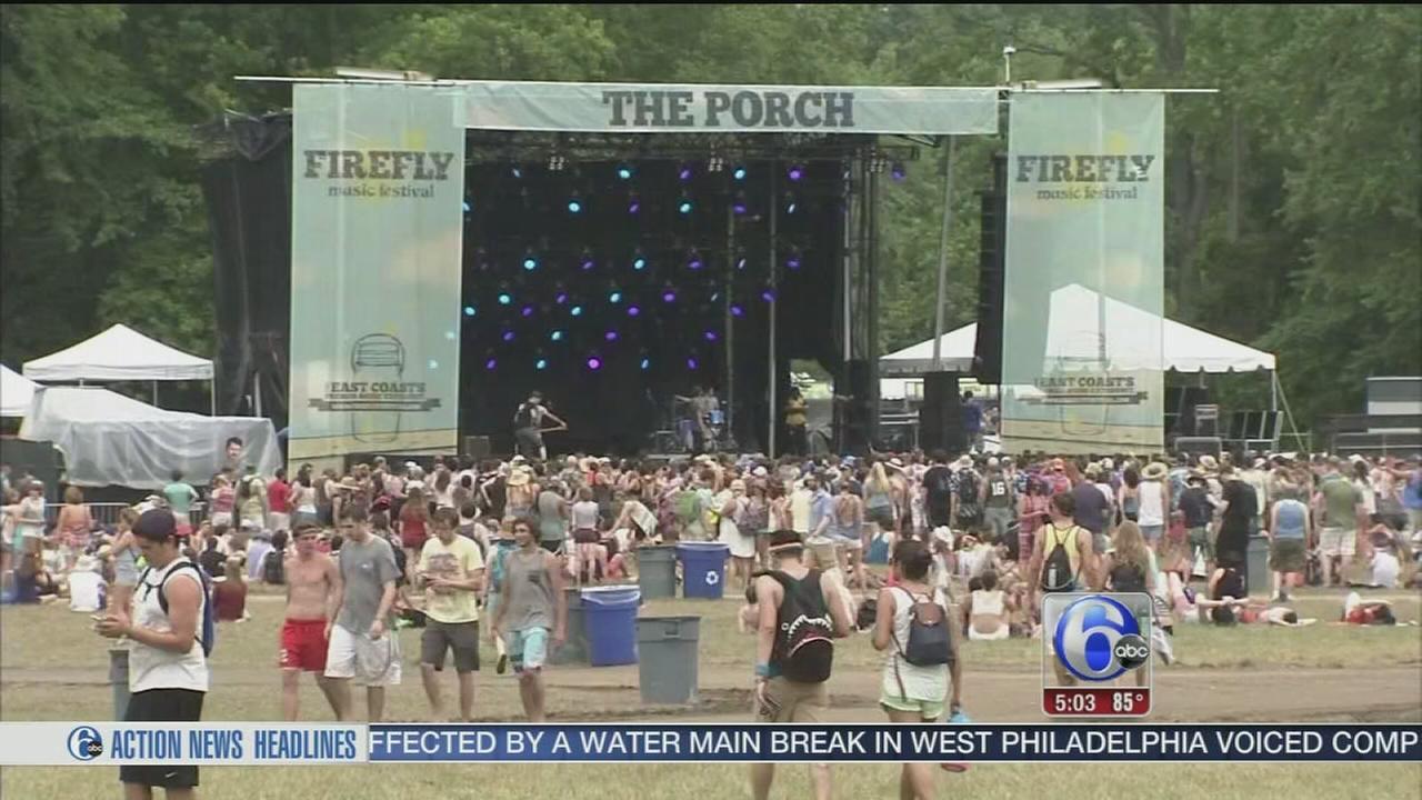 VIDEO: Firefly Music Festival begins in Dover