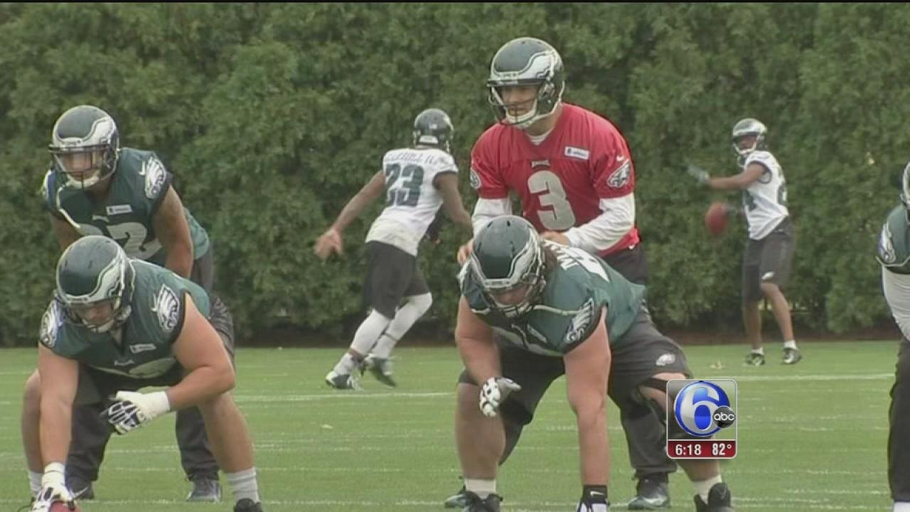 VIDEO: Bradford ?confident? in Eagles offensive line