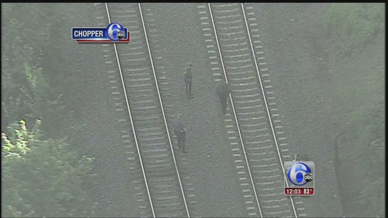 VIDEO: Man struck by train in Bordentown