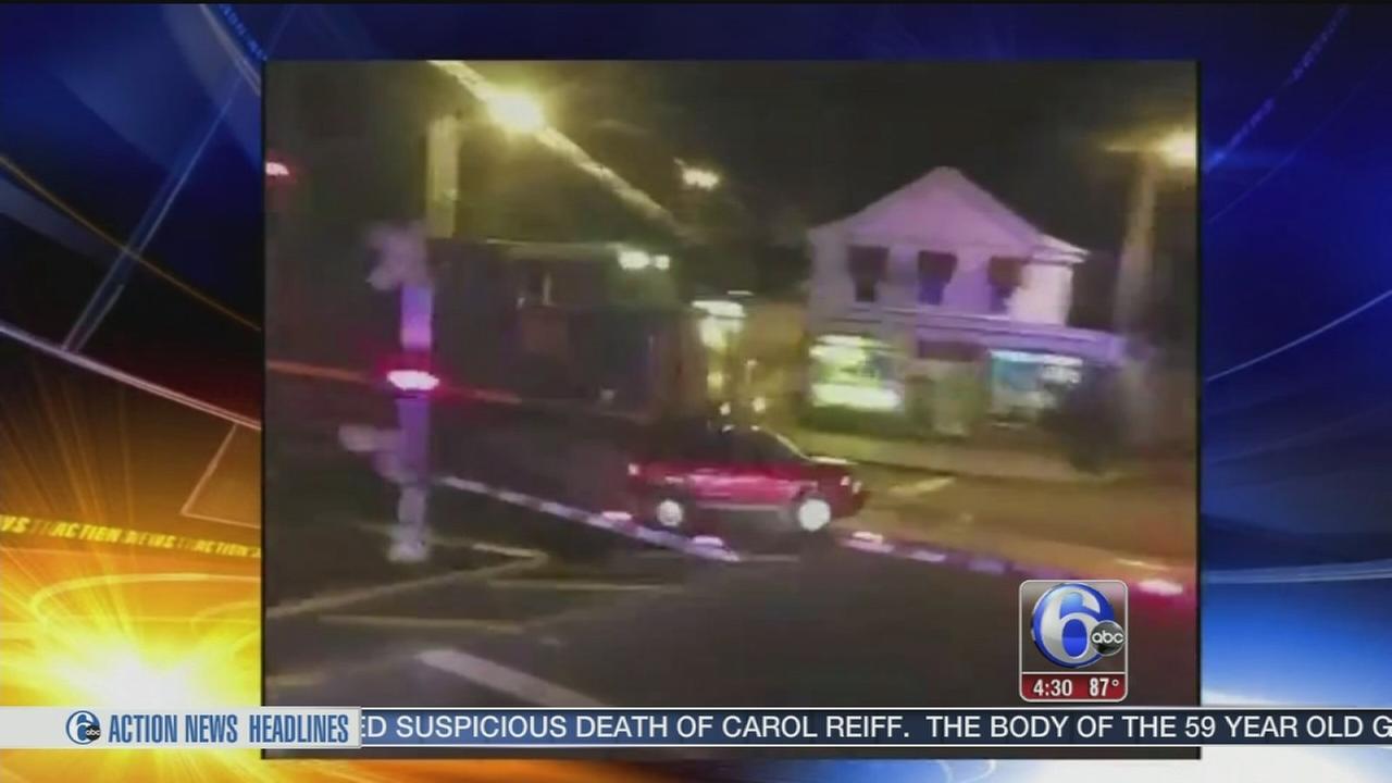 VIDEO: Train slams into SUV