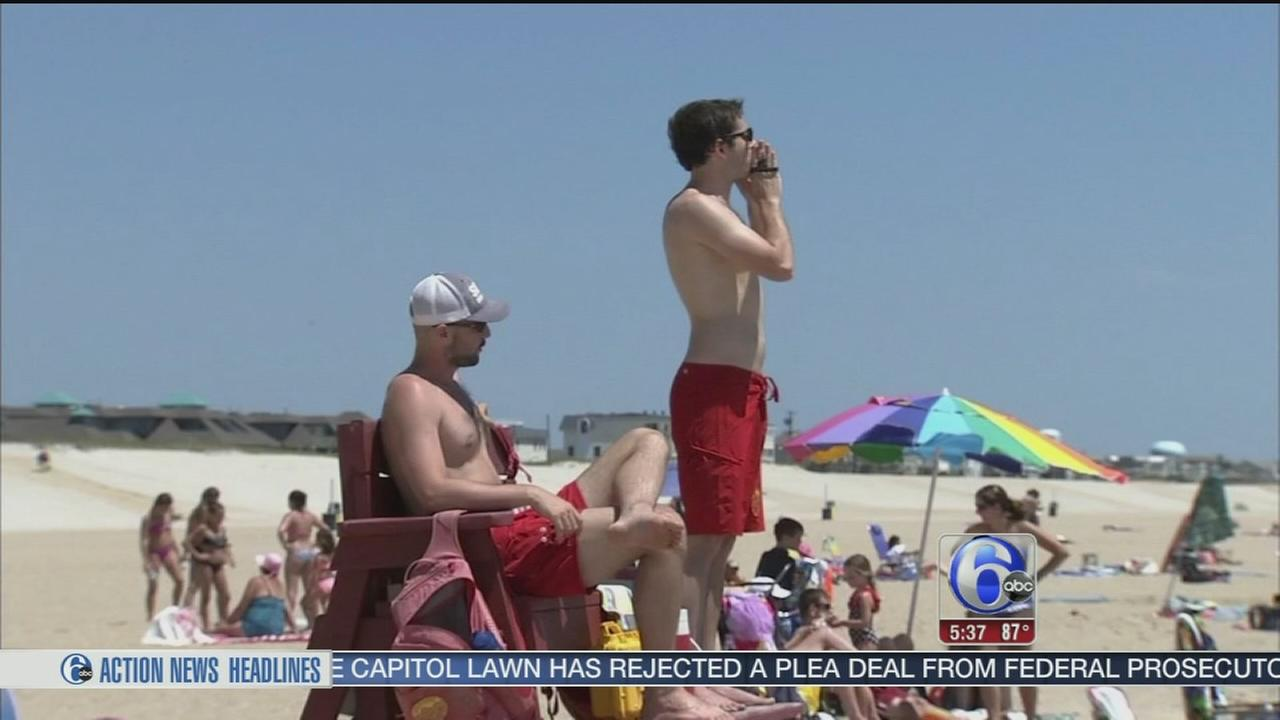 VIDEO: Beautiful start to summer at Jersey Shore