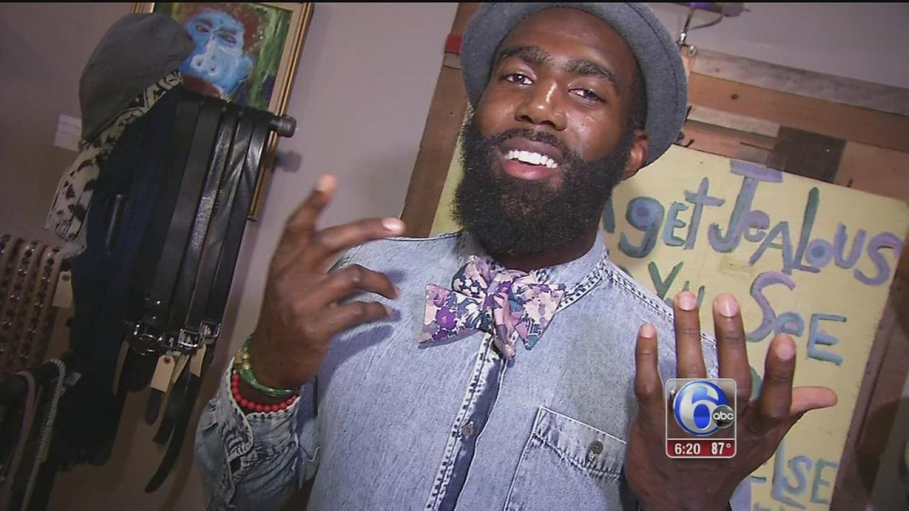 VIDEO: The bow tie stylings of Malcolm Jenkins