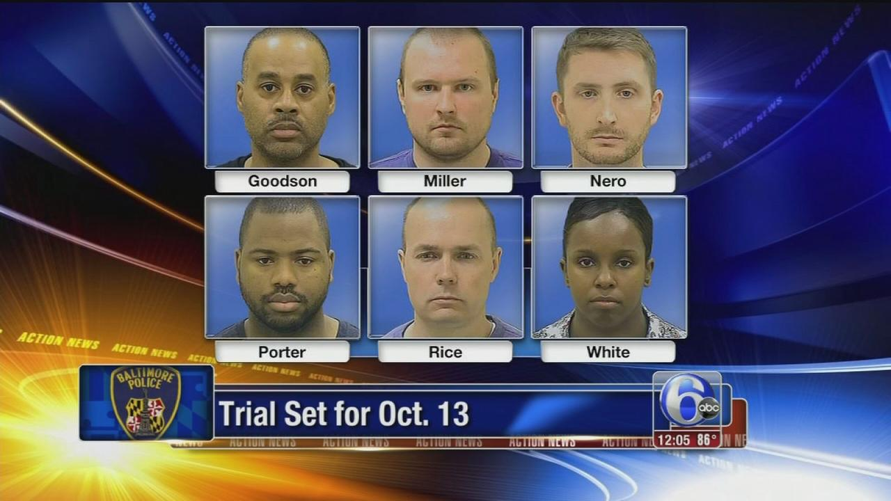 VIDEO: Baltimore officers plead not guilty