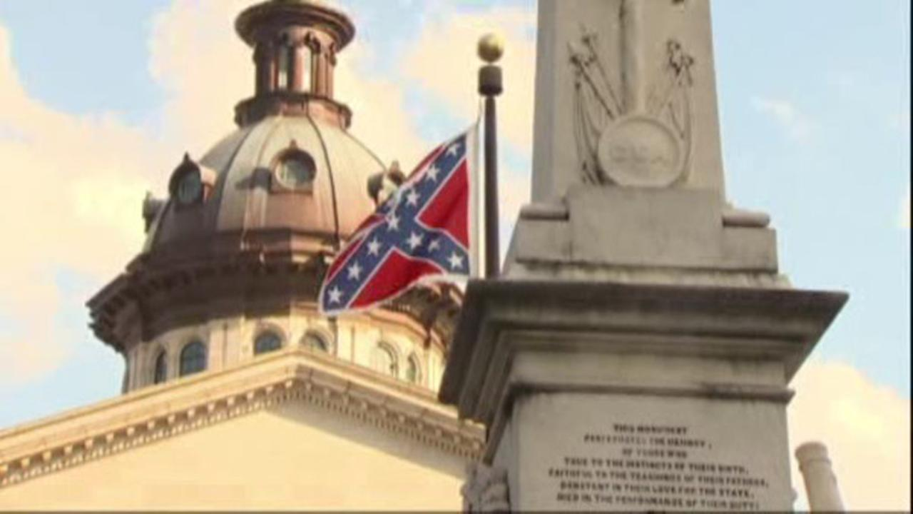 Confederate Flag at South Carolina Capitol