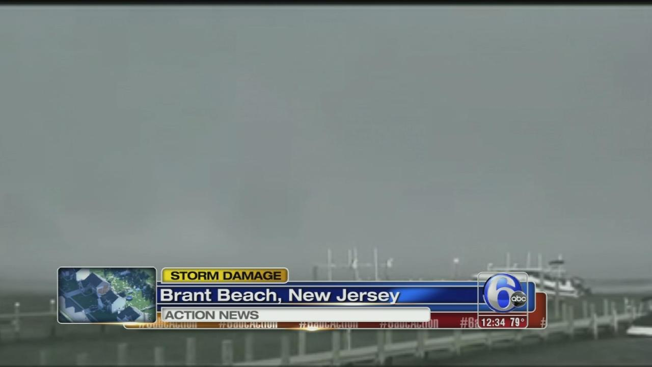 VIDEO: Waterspout in LBI