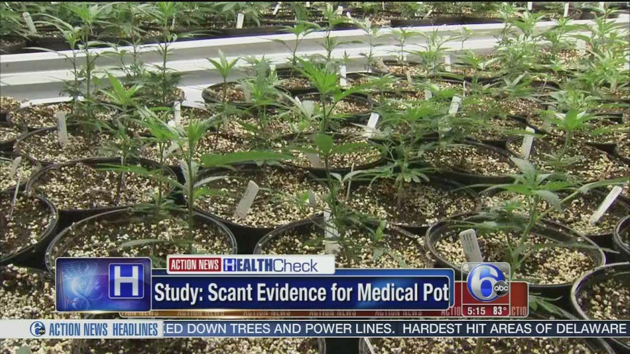 VIDEO: Study: Little evidence that medical marijuana works