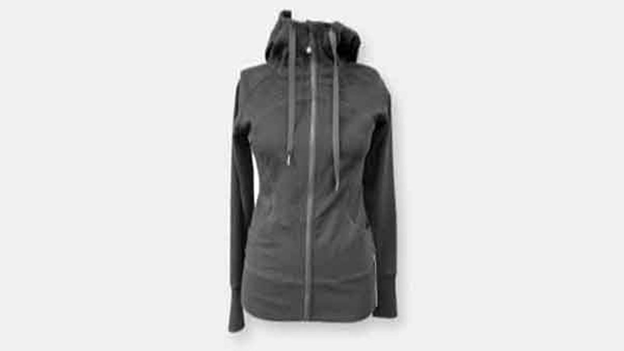 Zip-up jackets sold by Lululemon are being recalled because they could cause a person to be injured.