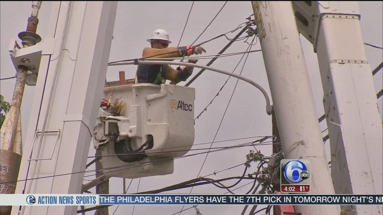 VIDEO: Storm cleanup continues in Delaware Co.