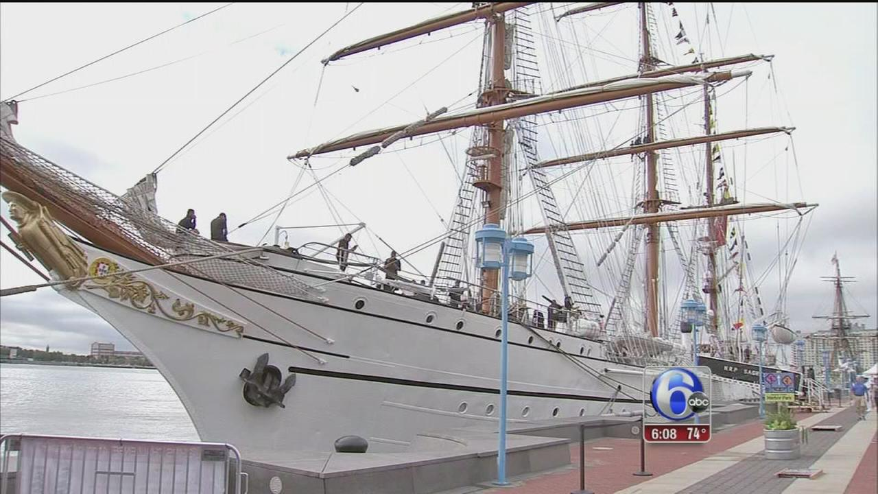 VIDEO: Sun shines for Tall Ships festival final day
