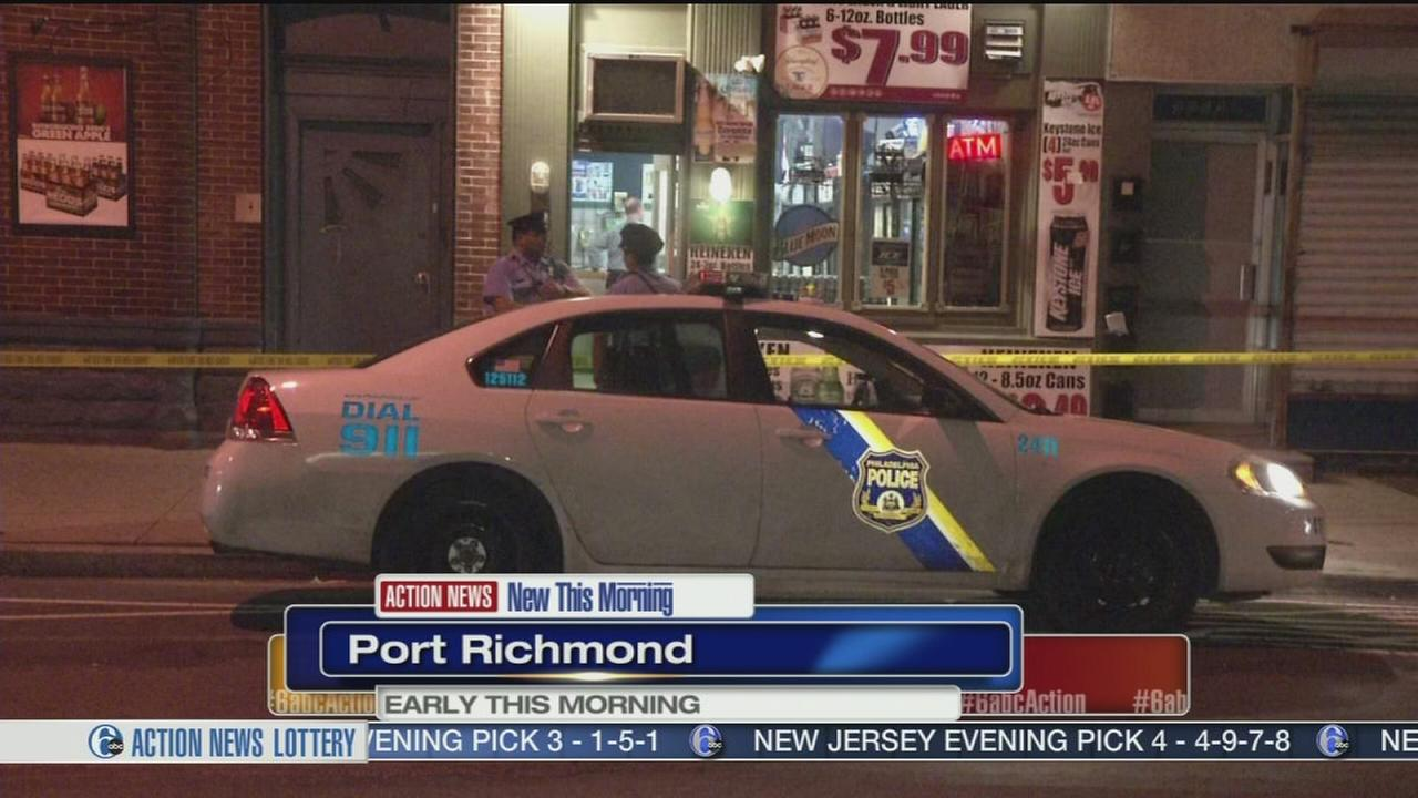 VIDEO: Man shot, wounded in Port Richmond