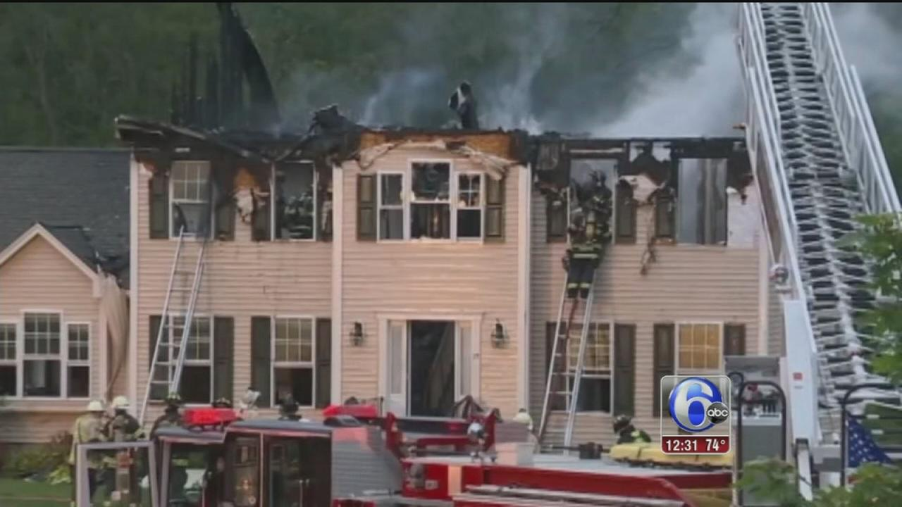 VIDEO: Plane from Lancaster Co. crashes into house; 3 dead