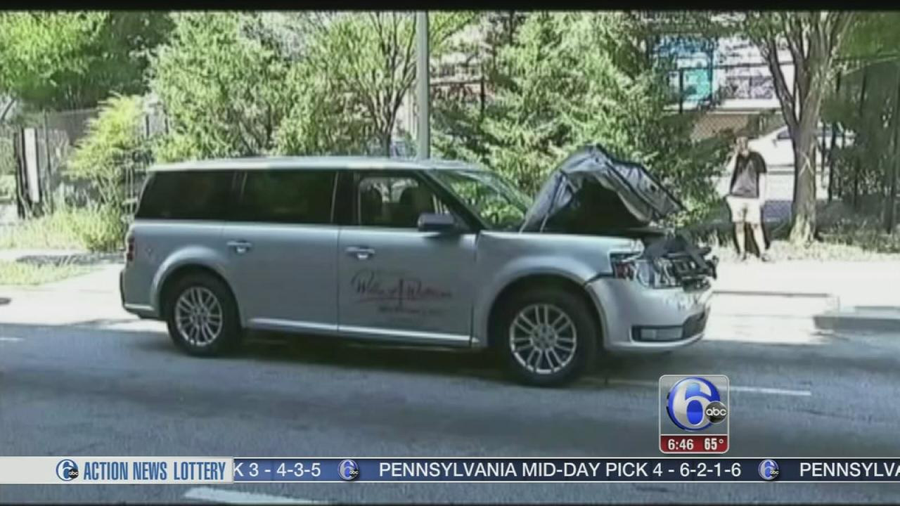 VIDEO: Man stole hearse with body inside
