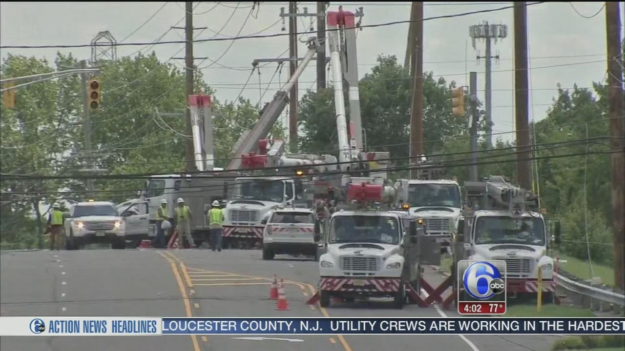 VIDEO: Power problems continue in Gibbstown