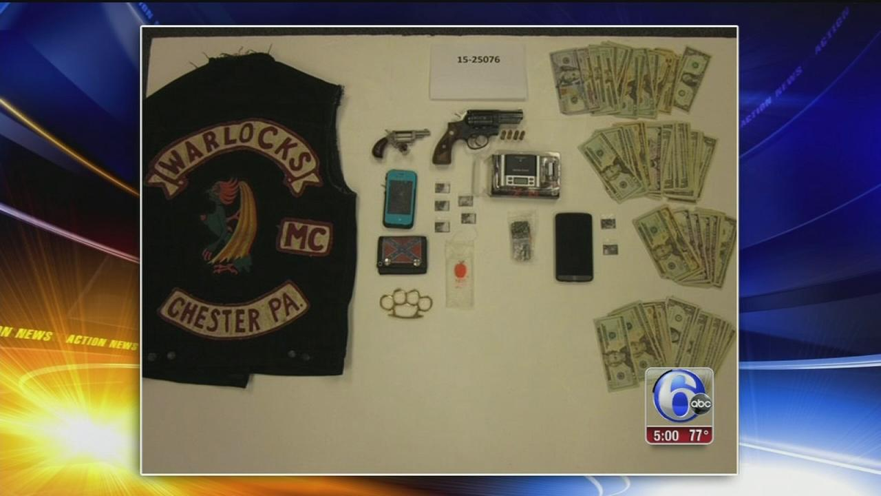 VIDEO: 5 arrested in meth bust in Upper Darby