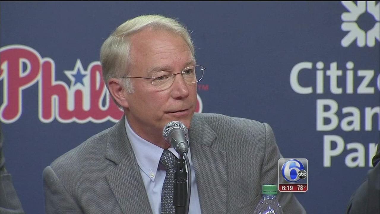 VIDEO: MacPhail joins Phillies, will be president after season