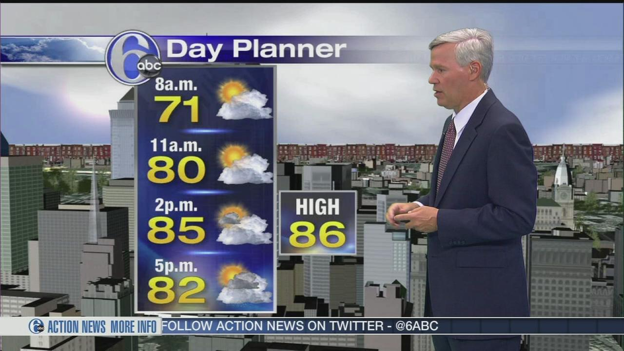 VIDEO: David Murphy with AcuuWeather