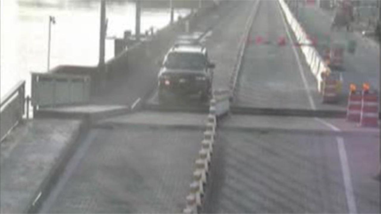VIDEO: Driver jumps a drawbridge in Florida