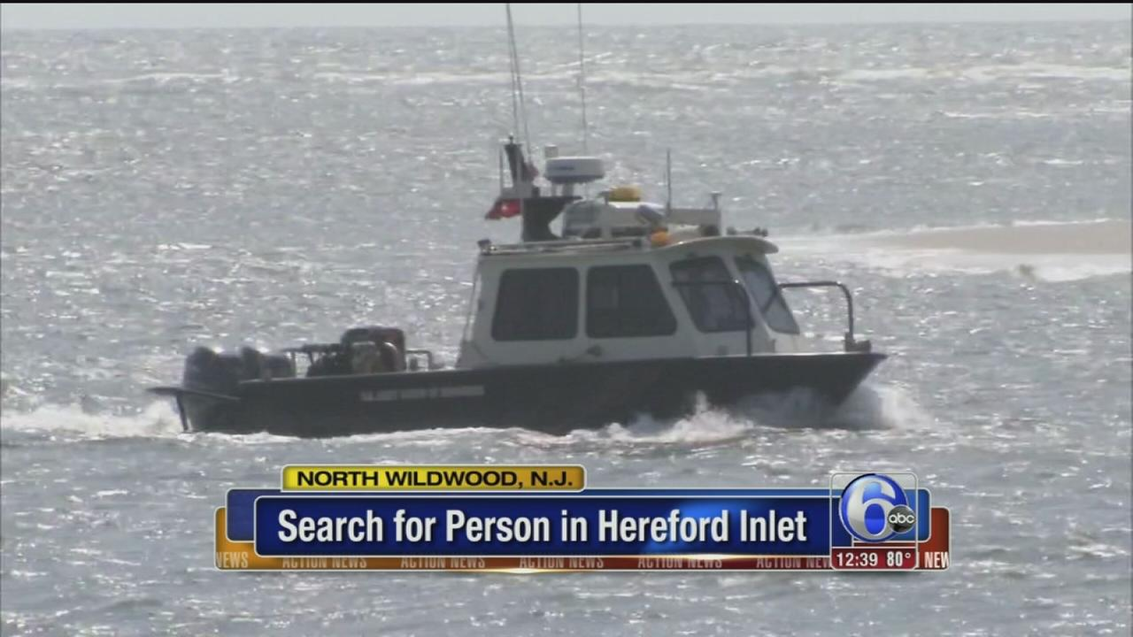 VIDEO: Water search in N. Wildwood