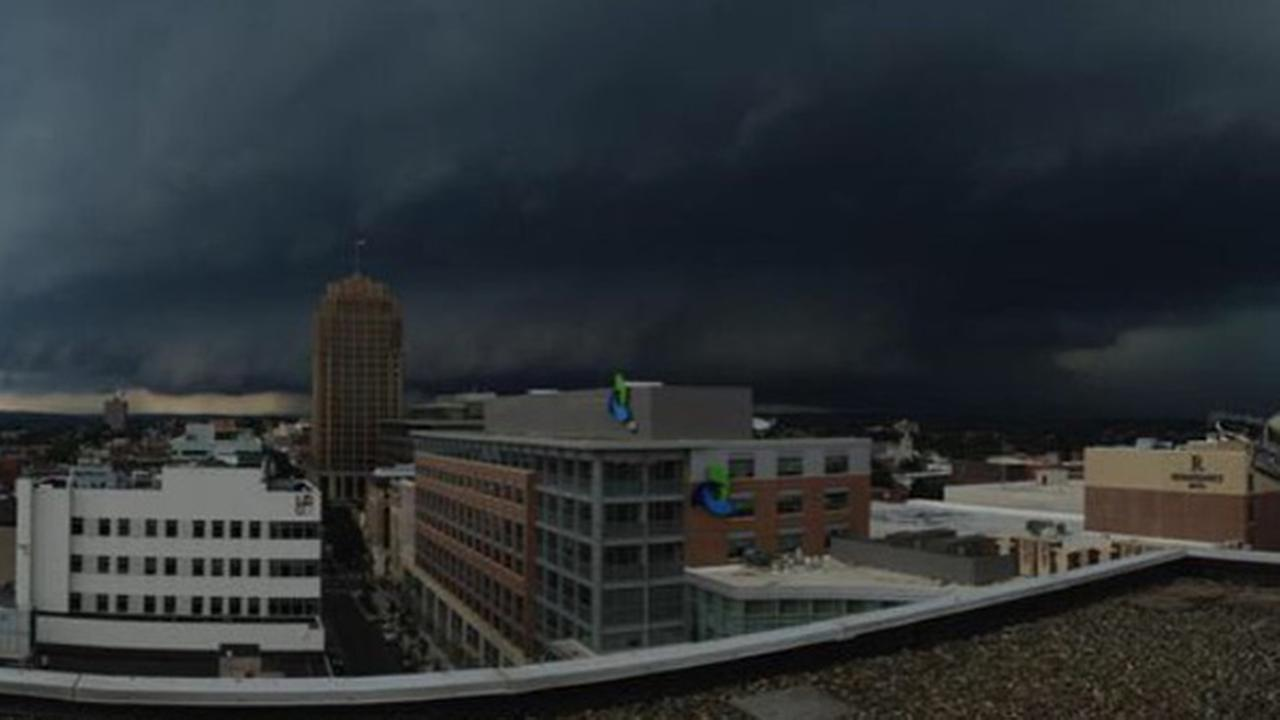 June 30, 2015: Action News viewer Mark sent this view of storm clouds from Allentown, Pa.