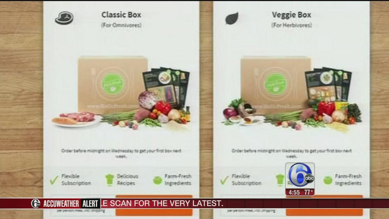 VIDEO: Meal in a box delivery services