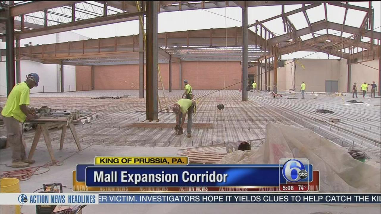 VIDEO: Kinf of Prussia Mall expansion