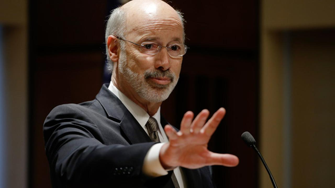 Pennsylvania Gov. Tom Wolf speaks during the Philadelphia GradNation Community Summit Friday, June 12, 2015, at the The Chemical Heritage Foundation in Philadelphia.