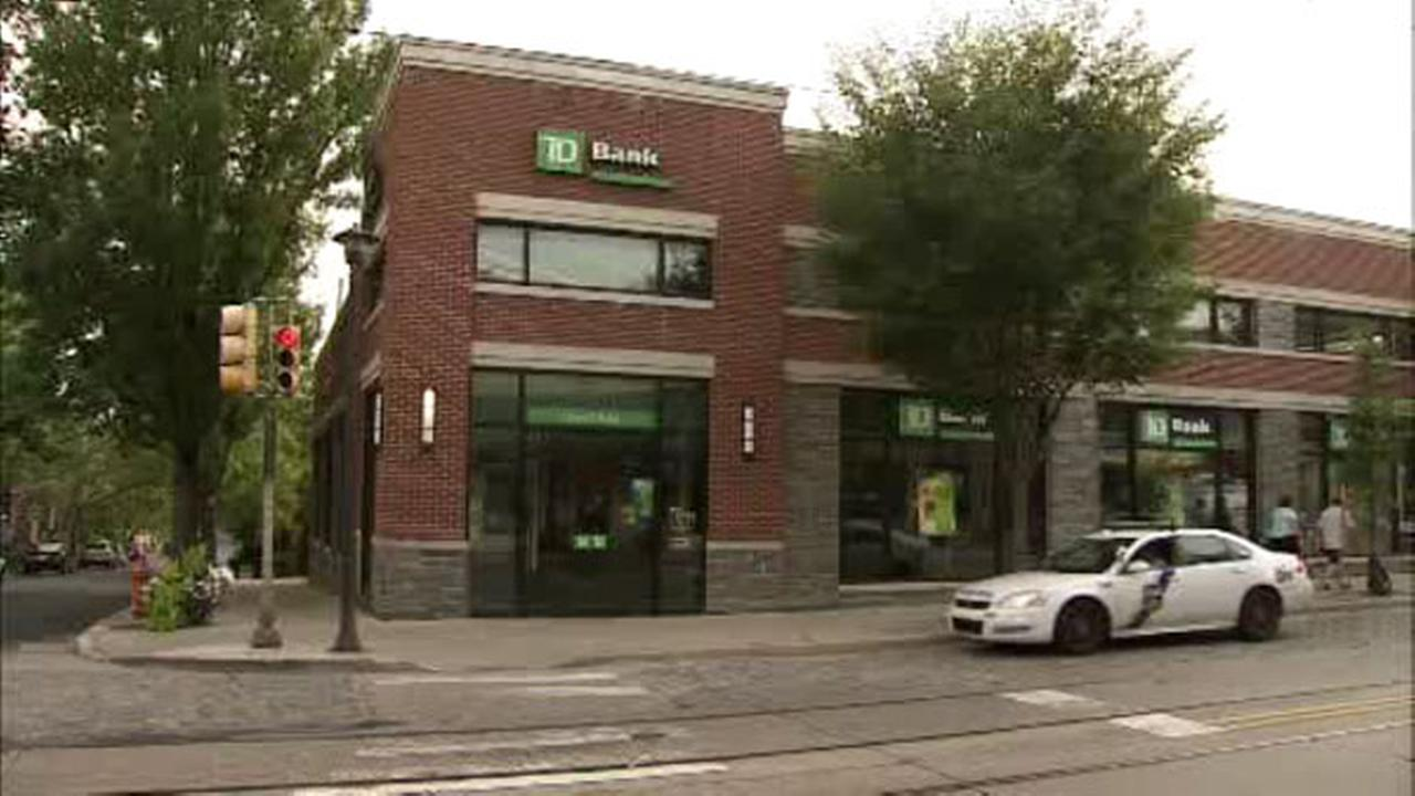 Philadelphia police are investigating an armed robbery at a Chestnut Hill bank.