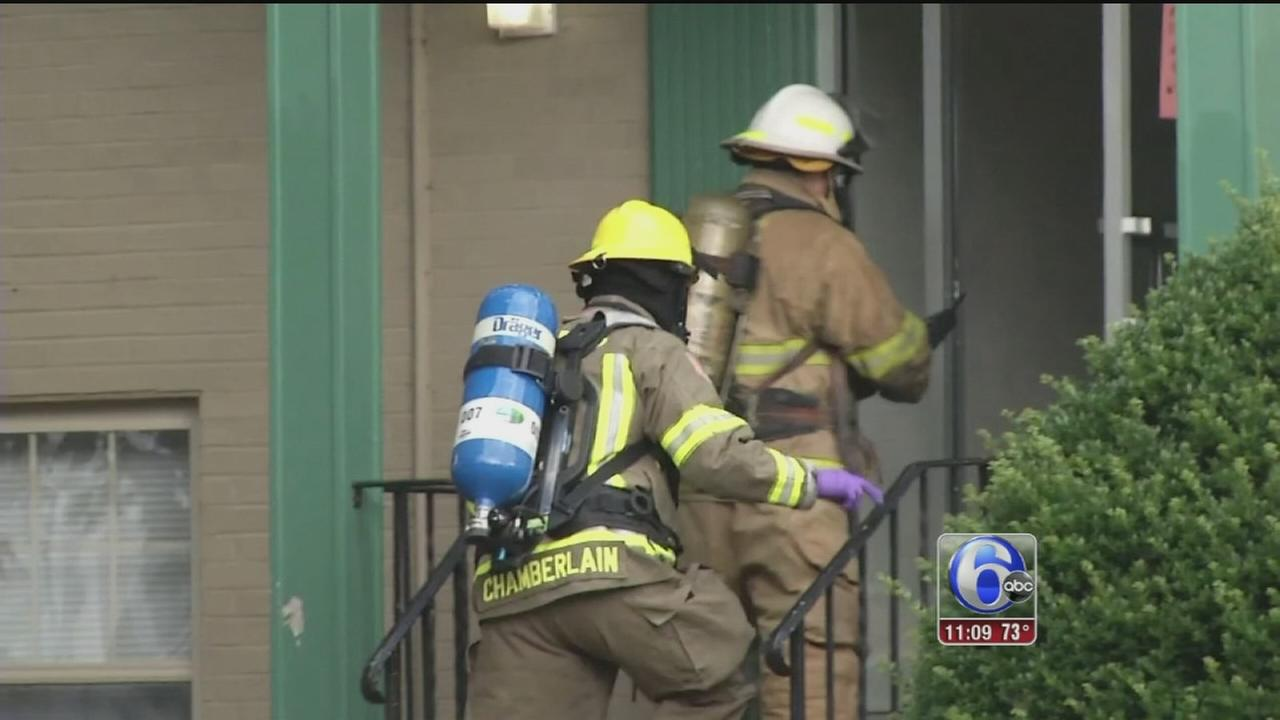 VIDEO: Hazmat situation at Delaware apartments