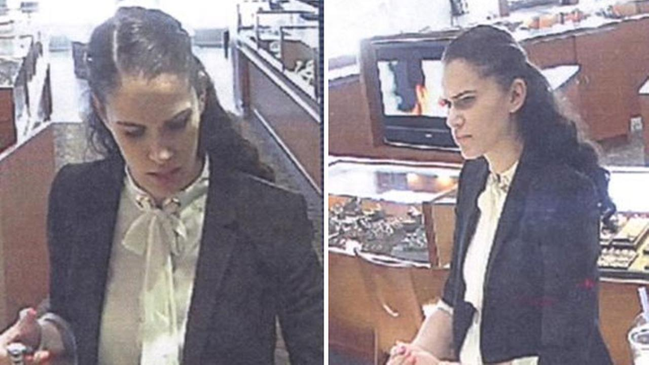 Woman sought in Rolex Theft