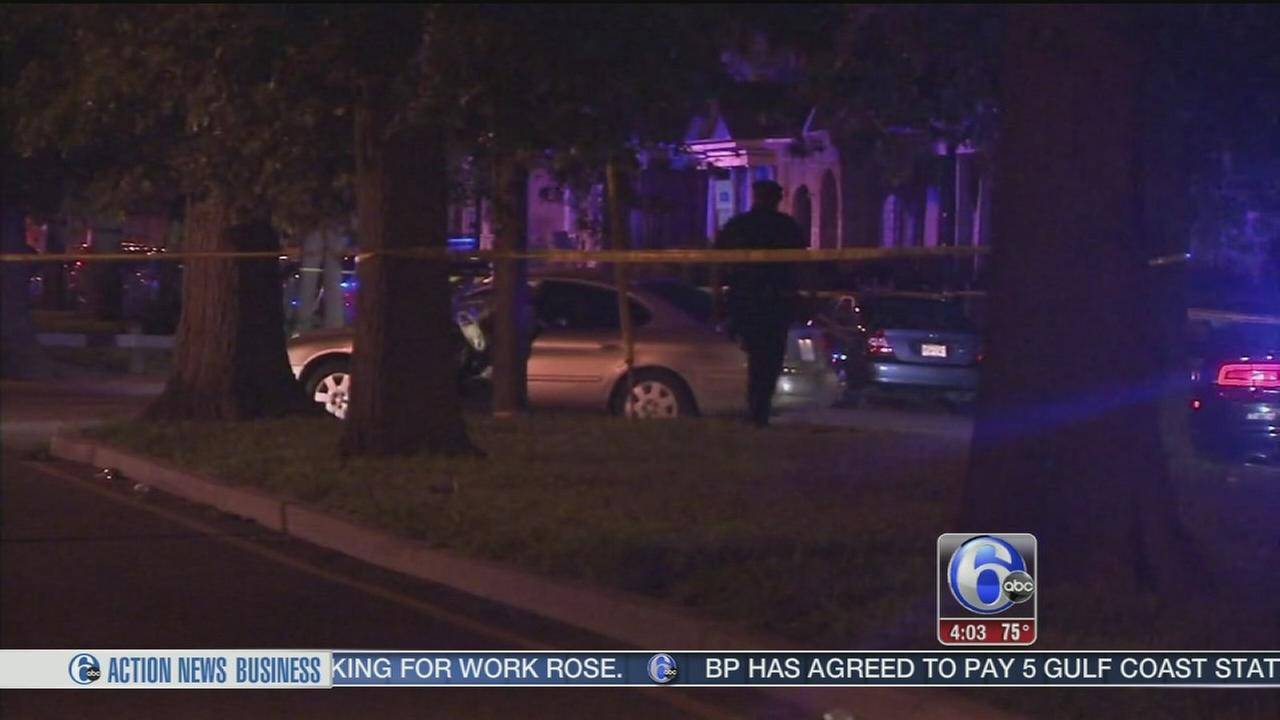 VIDEO: Camden shootings injure woman and police officer