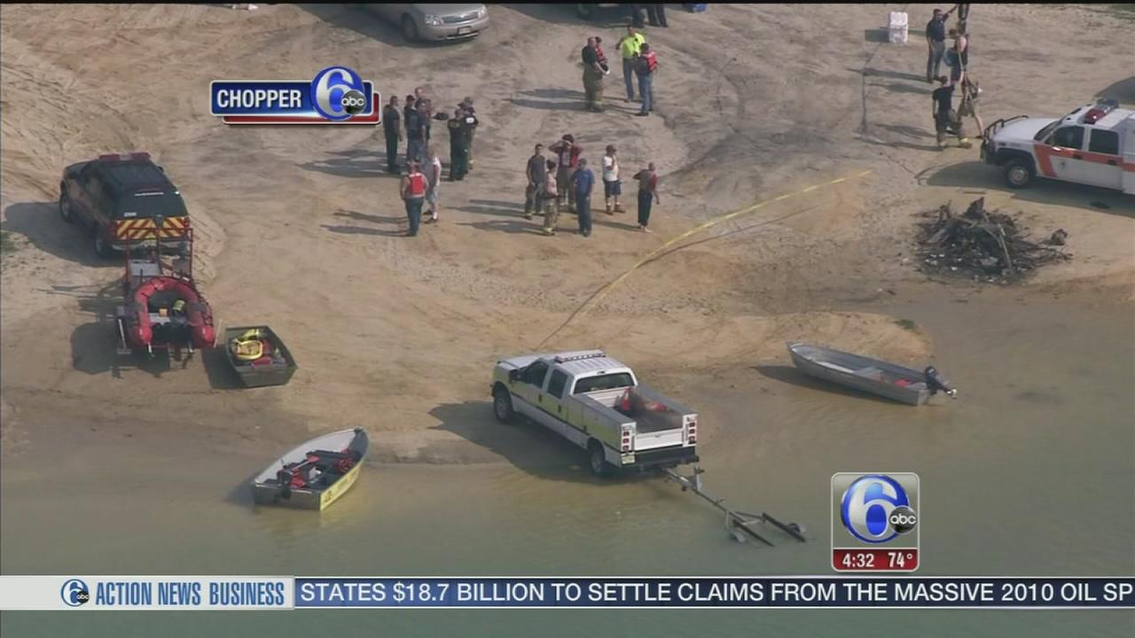 VIDEO: Body of teen swimmer recovered from Monroe Twp. lake