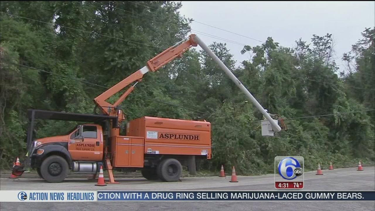 VIDEO: 9 days later, South Jersey still cleaning up after storm