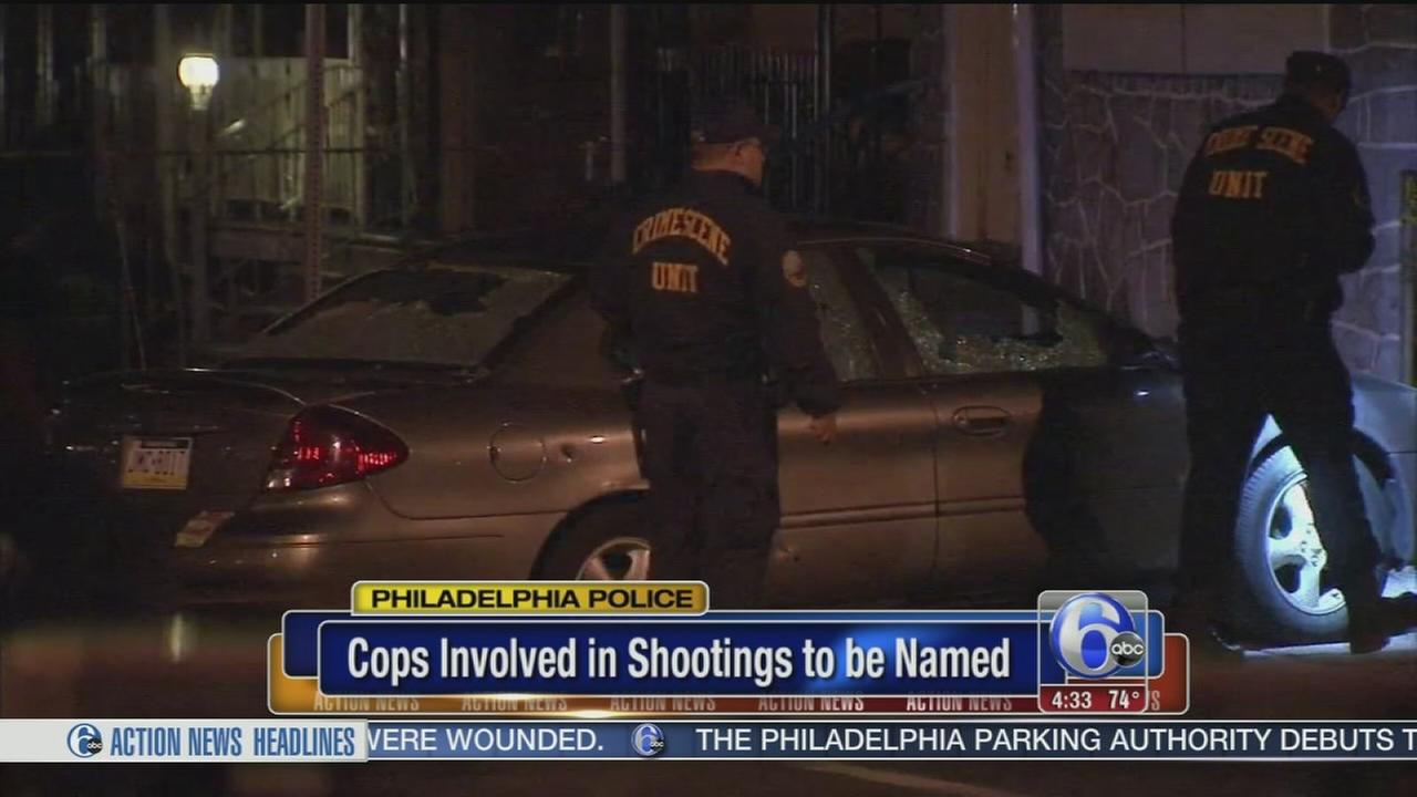 VIDEO: Philadelphia Police to name officers involved in shootings