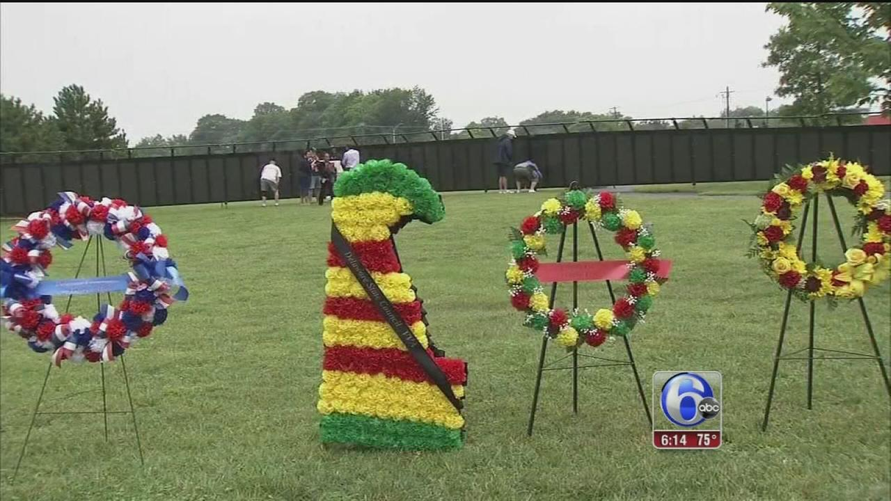 VIDEO: Traveling tribute to Vietnam veterans stops in Del.