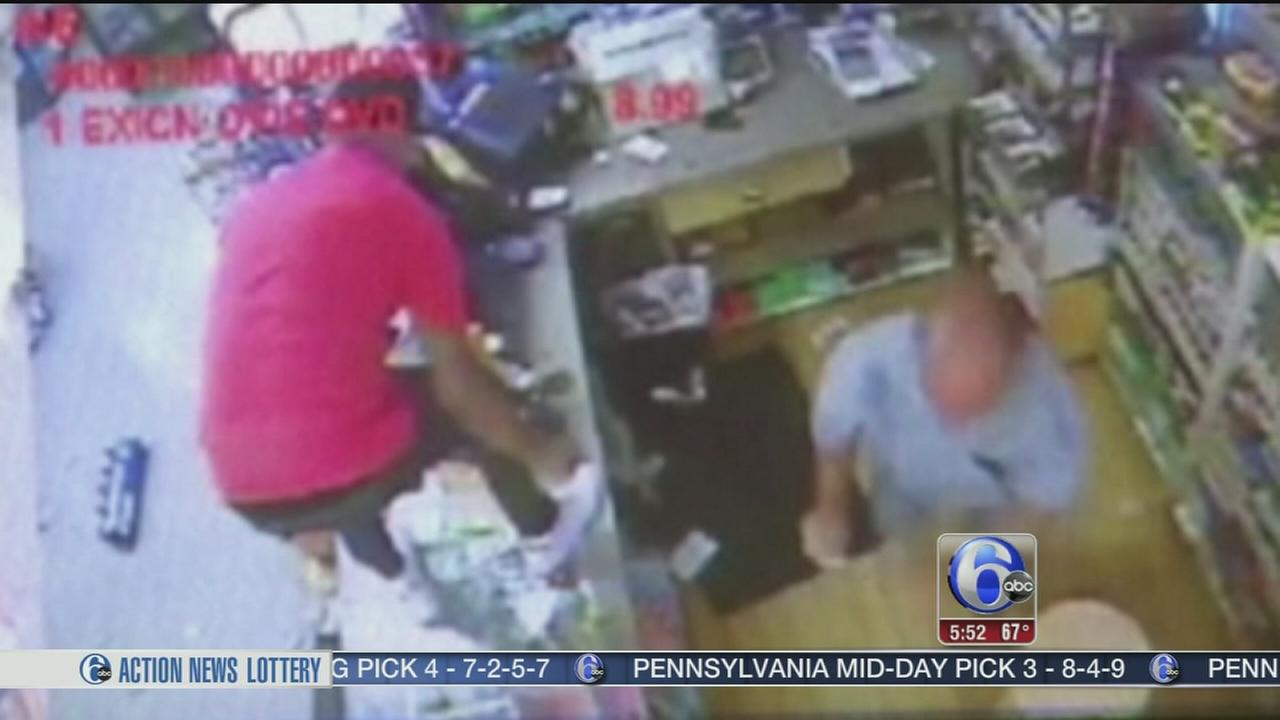 VIDEO: Robber uses Mountain Dew as diversion