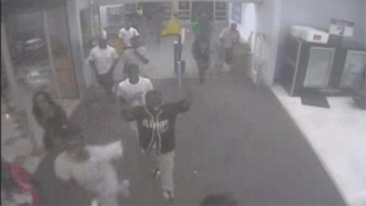 Teens storm Wal-Mart in rampage of destruction