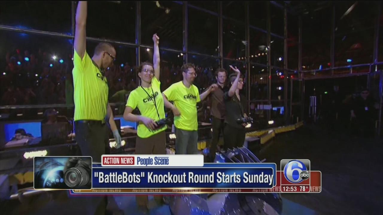 VIDEO: BattleBots knockout round begins