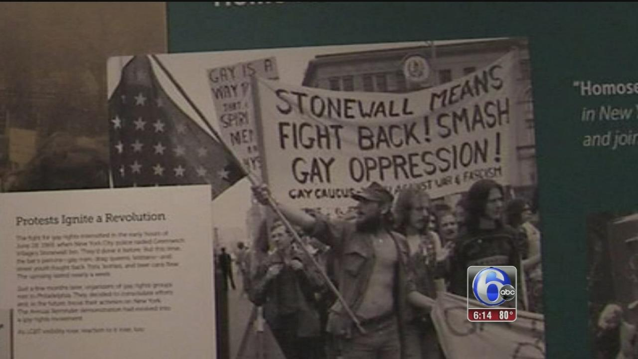 VIDEO: Marking 50th anniversary of historic LGBT protest in Phila.