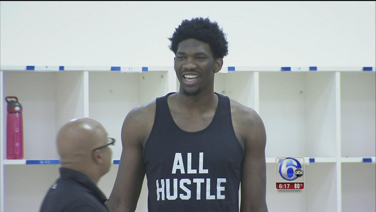 VIDEO: High hopes for Joel Embiid?s recovery