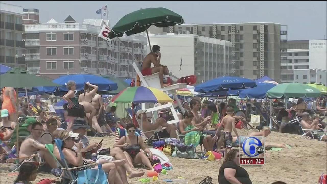 VIDEO: Kicking off the July 4th weekend at the shore