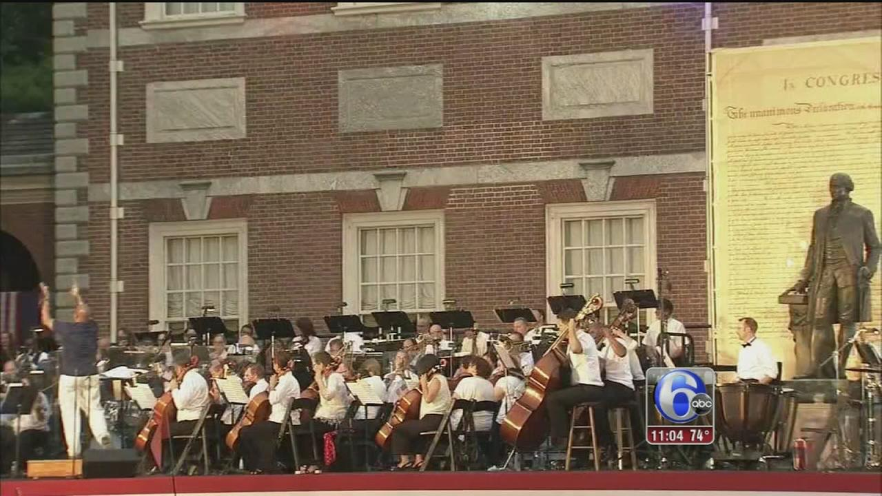 VIDEO: Wawa Welcome America: Liberty Bock Party, Philly Pops