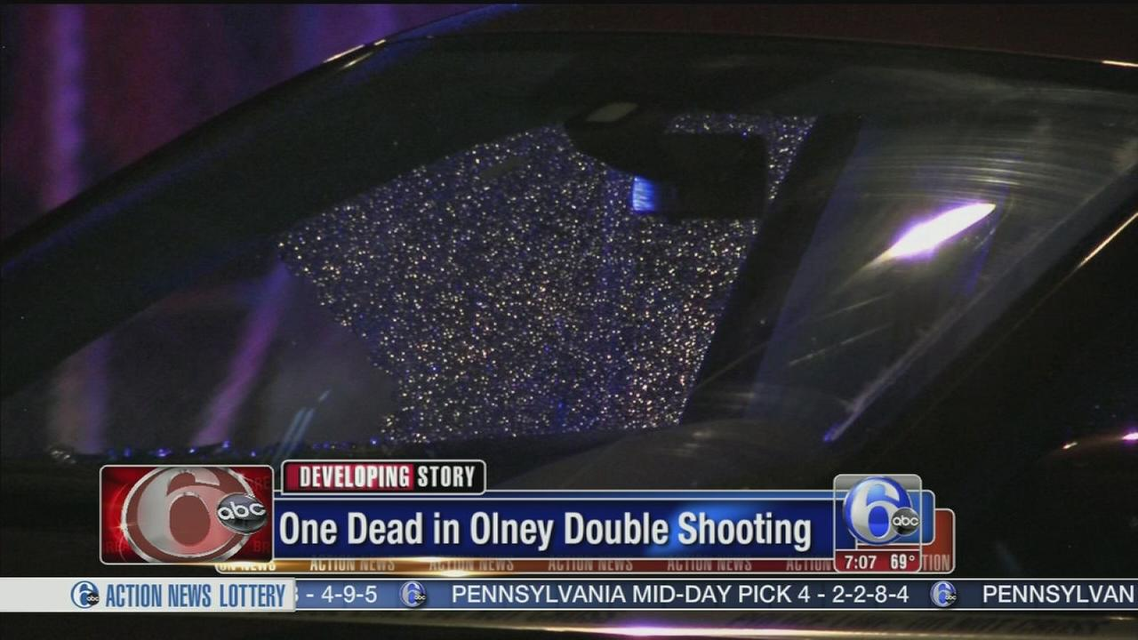 VIDEO: 1 dead in Olney double shooting