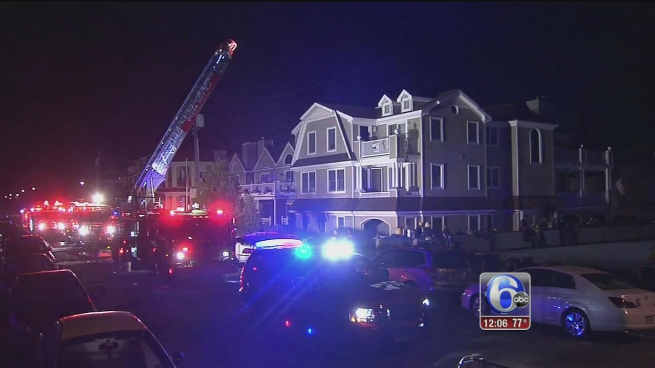 VIDEO: People rescued from Ocean City fire