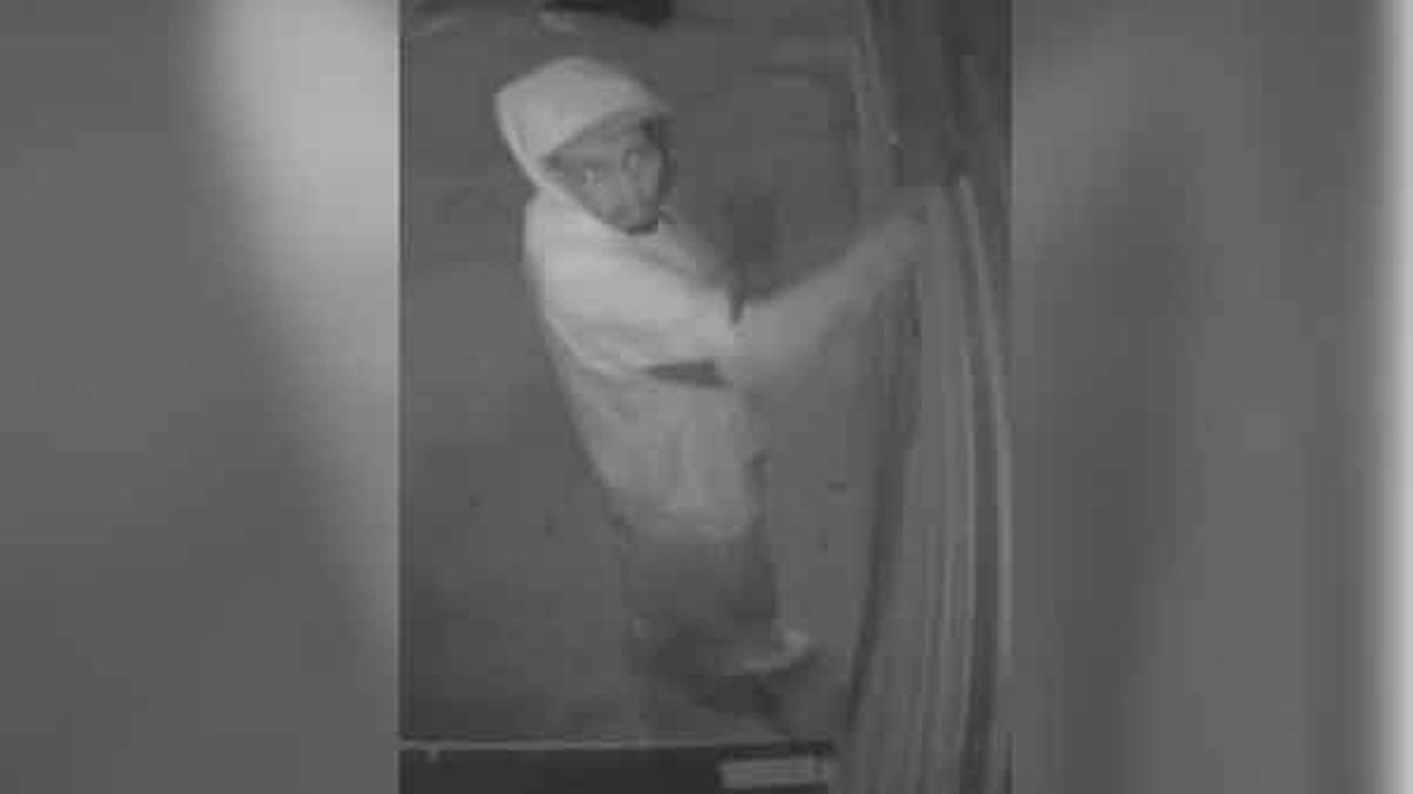 Police are looking for a burglar who broke into a restaurant in South Philadelphia.