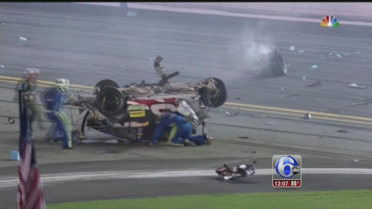 VIDEO: Nascar crash