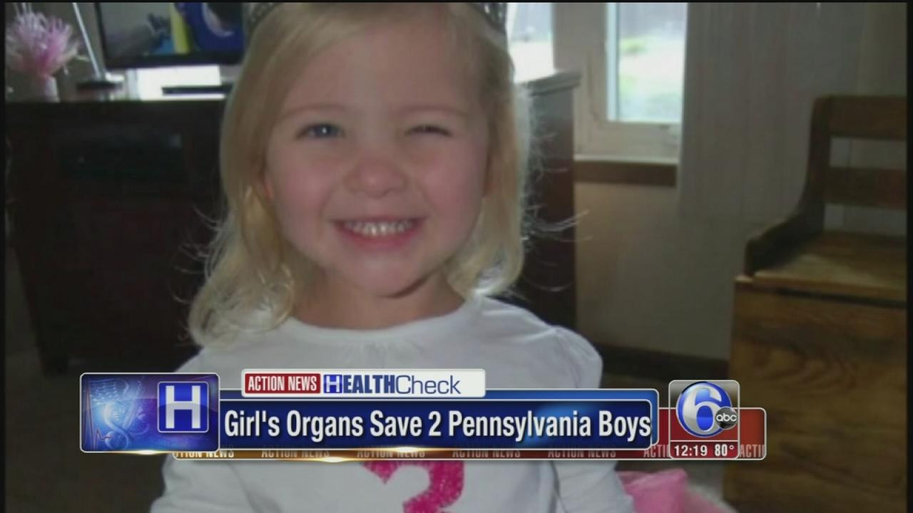 VIDEO: Girls organs save two Pennsylvania boys